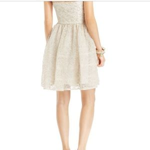 Betsey Johnson Dresses - HOLIDAY GLAM Betsey J Lace Strapless Dress DR-24